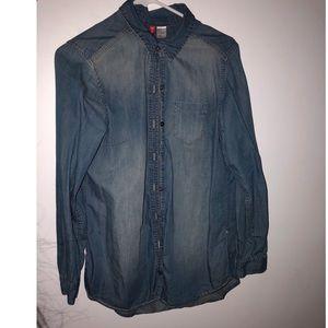 H&M Jean shirt